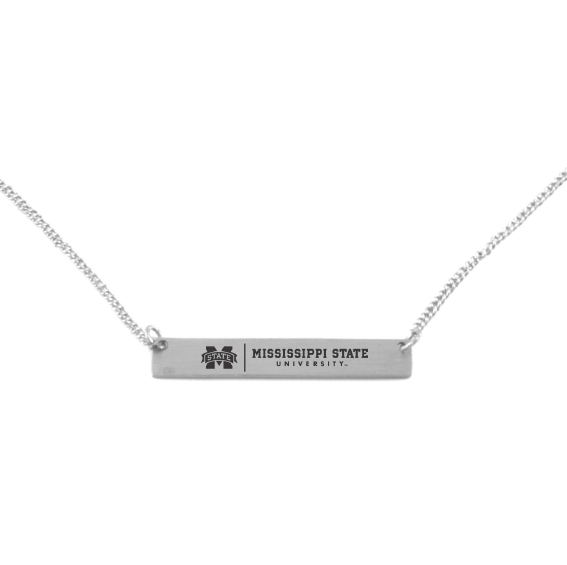 MSU Bar Necklace