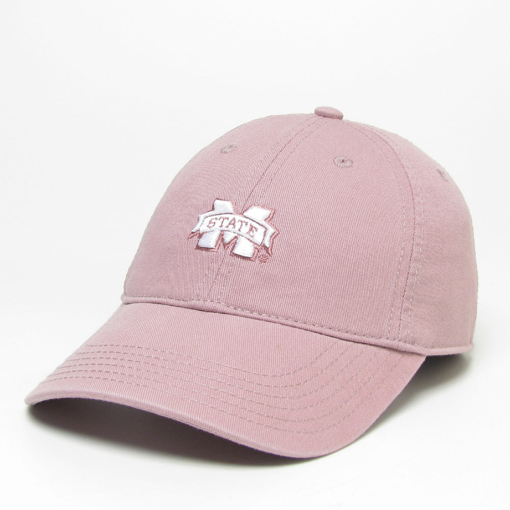 Ladies Mstate Banner Hat- Dusty Rose