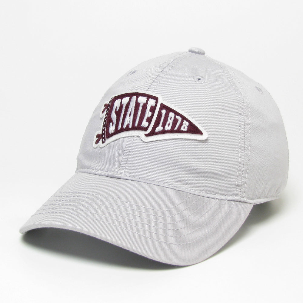 State 1878 Felt Pennant Hat - Silver