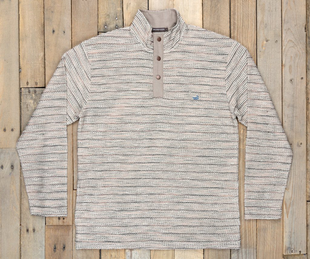 Pawleys Rope Stripes Pullover - Oatmeal