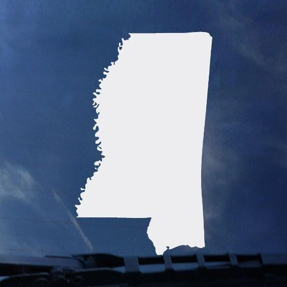 State Of MS Decal