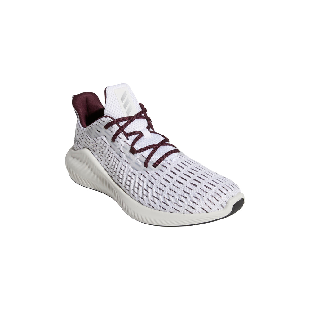 Alphabounce+ Maroon/Silver/White