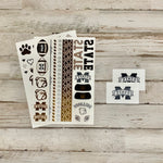MSU Metallic Tattoos