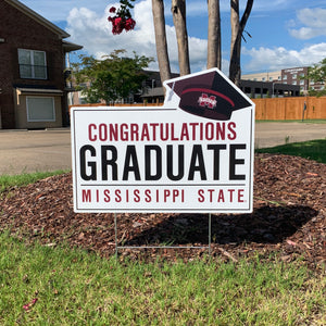 Congrats MSU Grad Yard Sign
