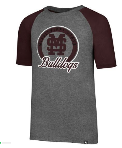 Youth MSU Bulldogs Raglan Tee