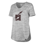 MSU Flying M Vintage Haze Tee