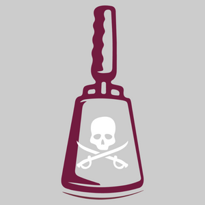 Pirate Cowbell Decal