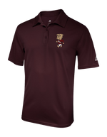 SALE Walking Bully Polo - Solid Maroon