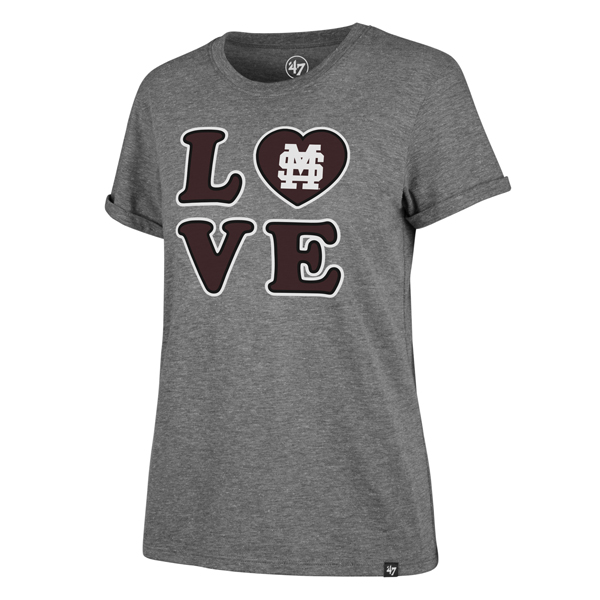 MSU Baseball Love Ladies Tee