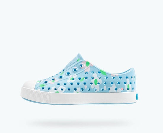 Jefferson Daisy Print - Sky Blue/Shell White/Daisy