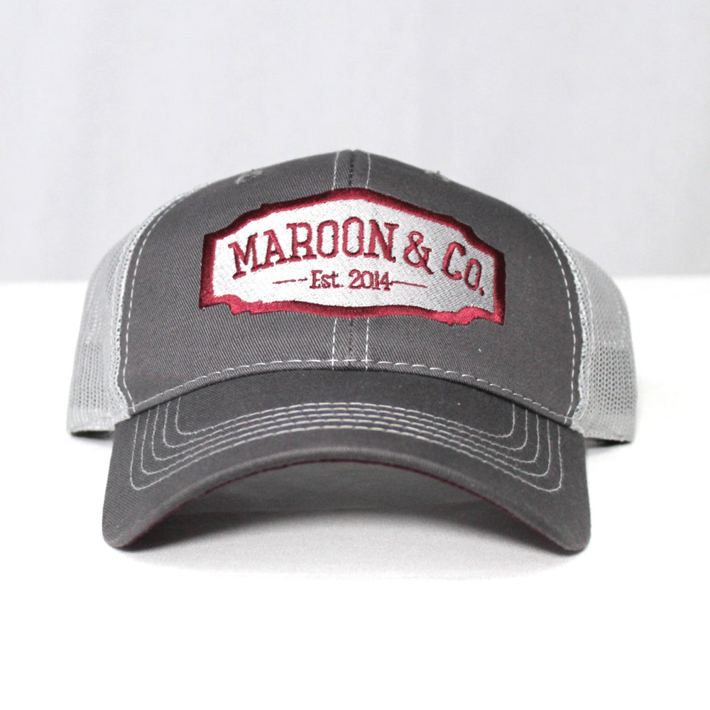 Maroon & Co Bretmor Trucker Hat
