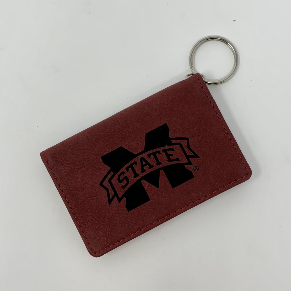 MSU Leather ID Holder