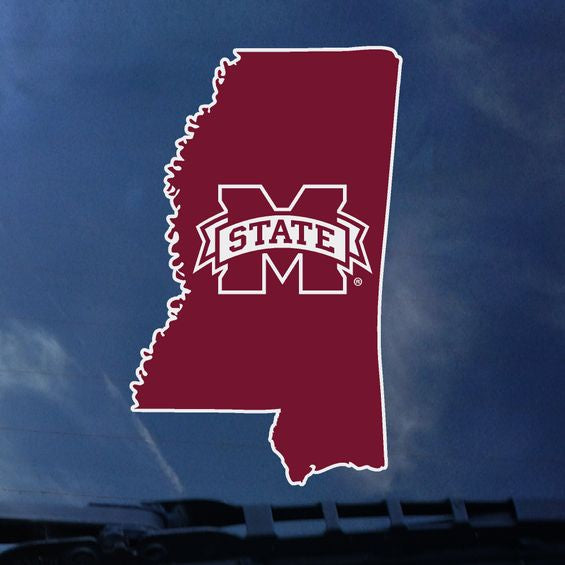MSU State of MS Decal