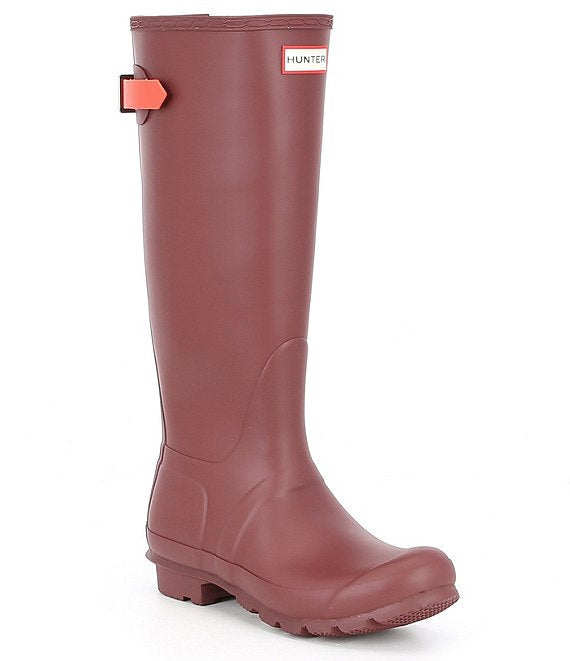 Original Tall Rain Boot- Rumbling Red / Siren