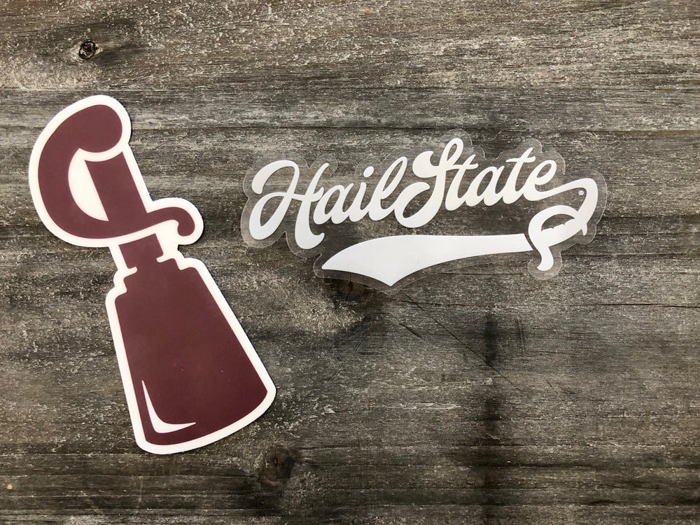 Cowbell Sword Decal