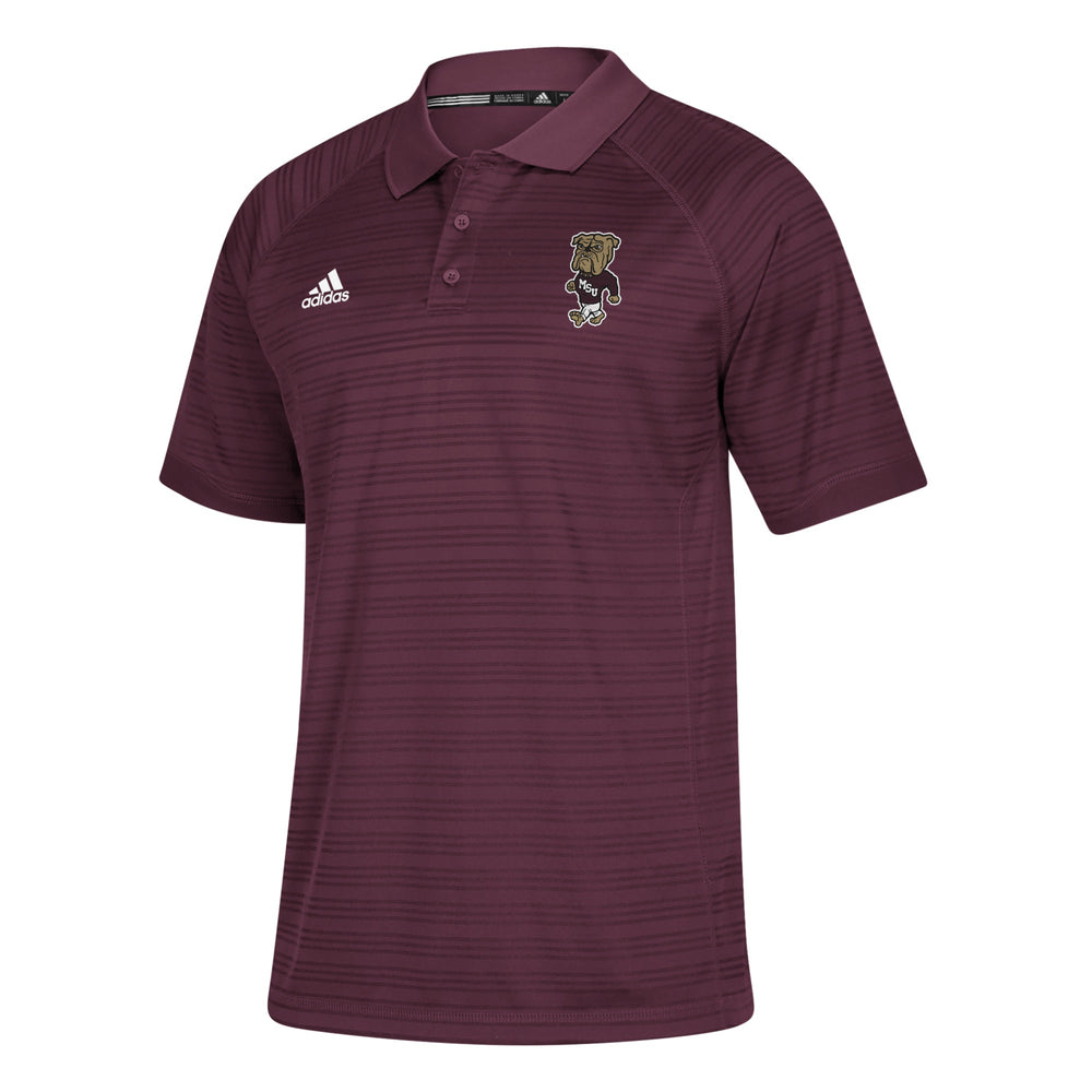 Maroon Stripe Walking Bully Polo