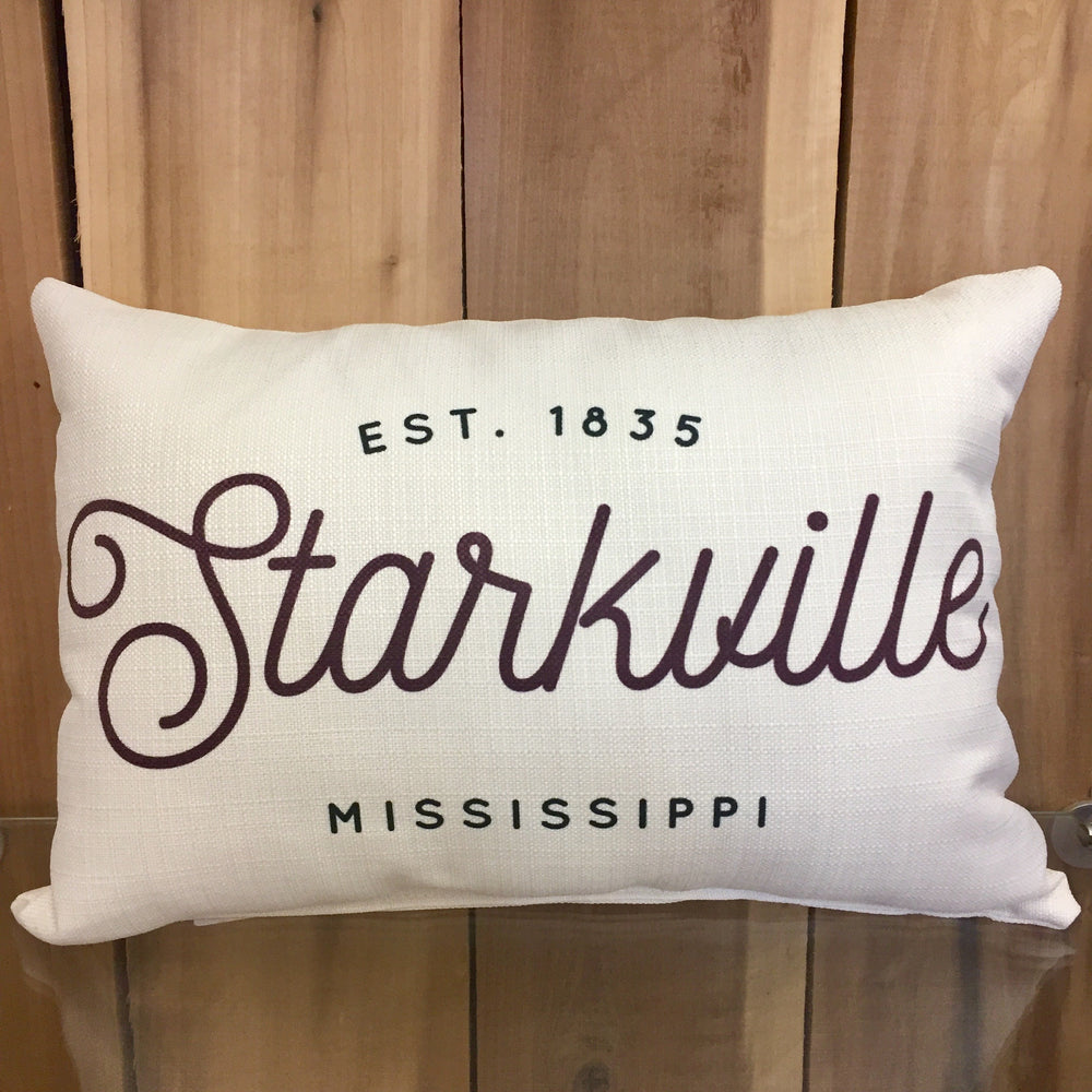 Vintage Est. City/State Pillow