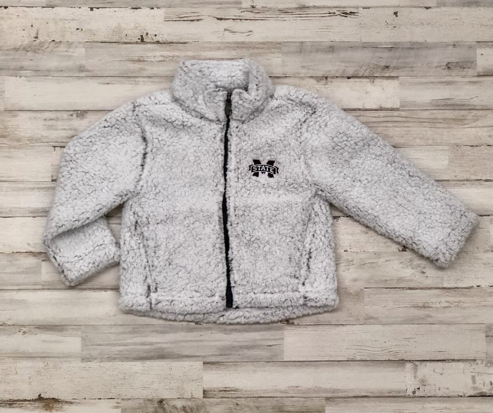 Youth MSU Sherpa Jacket