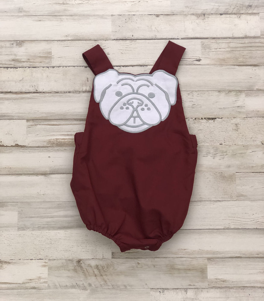 Lil' Bulldog Bubble Romper