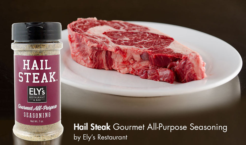 Hail Steak Ely's Seasoning