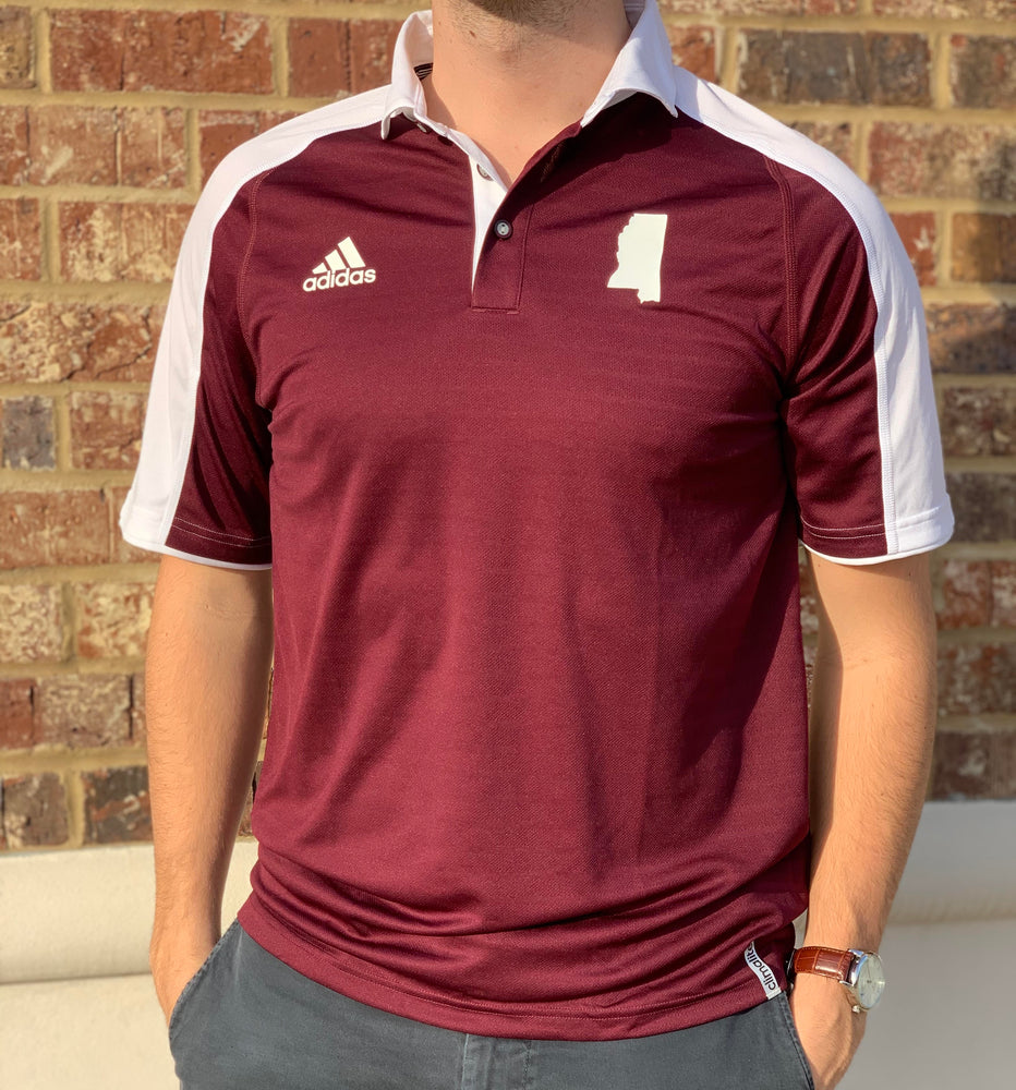 State of MS Shoulder Stripe Polo