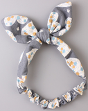 ORGANIC COTTON HEADBAND (GREY) - QKiddo.com