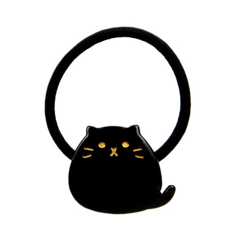 """PHAT"" CAT HAIR TIE (BLACK) - QKiddo.com"