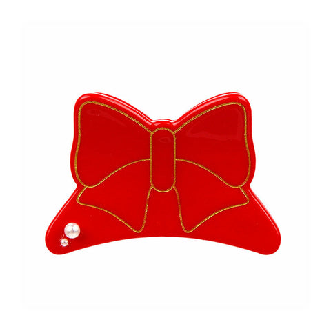 BUTTERFLY BOW FRENCH JAW CLIP (ROGUE) - QKiddo.com