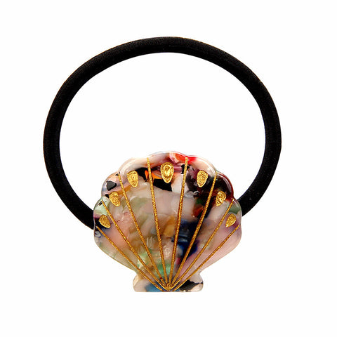 TREASURE SHELL (PONYTAIL HOLDER, STARLIGHT) - QKiddo.com