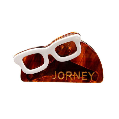 """JOURNEY"" FRENCH JAW CLIP (COFFEE) - QKiddo.com"
