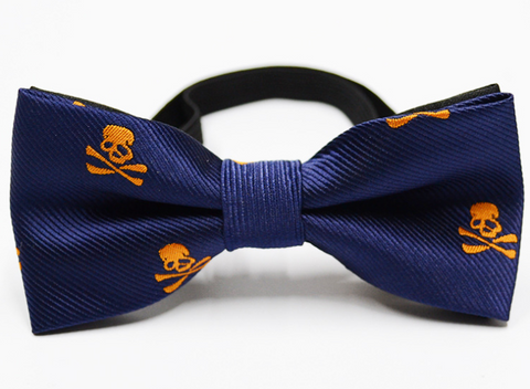 CARIBBEAN PIRATE BOW TIE (BLUE) - QKiddo.com