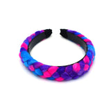 RAINBOW WOOLEN BRAID HEADBAND - QKiddo.com