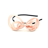TWIST WIRED BOW HEADBAND (PINK) - QKiddo.com