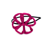 TWIST WIRED FLOWER HEADBAND (ROSE) - QKiddo.com