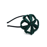TWIST WIRED FLOWER HEADBAND (GREEN) - QKiddo.com