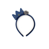 ROYALTY CROWN HEADBAND (NAVY) - QKiddo.com