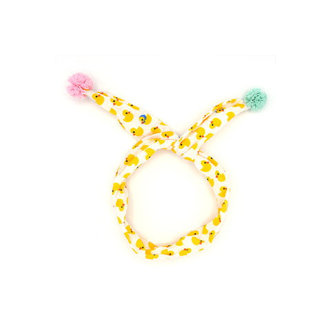 FUN TWIST HEADBAND OR…? (YELLOW DUCKS) - QKiddo.com