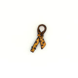 AMUR LEOPARD BOW SIDE HAIR CLIP (GOLD) - QKiddo.com