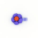 BABY FLOWER HAIR CLIP (PURPLE) - QKiddo.com