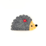 FELT SNAP HAIR CLIP (HEDGEHOG) - QKiddo.com