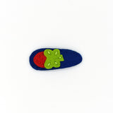 FELT SNAP HAIR CLIP (SWEET STRAWBERRY) - QKiddo.com