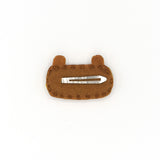 FELT SNAP HAIR CLIP (LITTLE BEAR) - QKiddo.com
