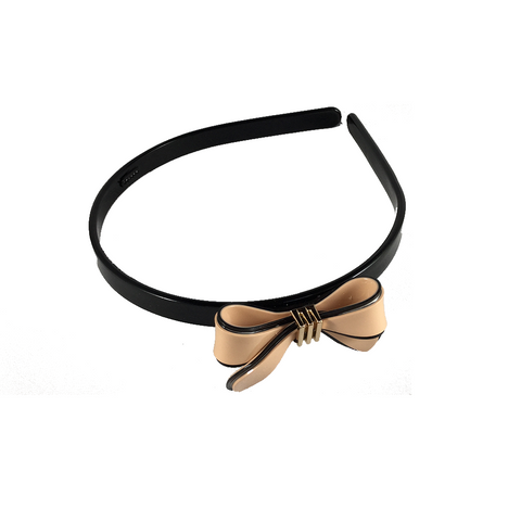 TENDERLY BOW (HEAD BAND, PINK) - QKiddo.com