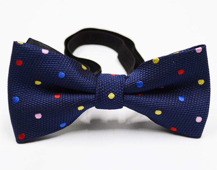 AINOW Mens Formal Dots Pattern Handmade Bow Ties Bowties Various Colors
