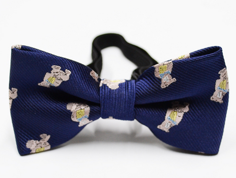 NAUGHTY TEDDY BEAR BOW TIE - QKiddo.com