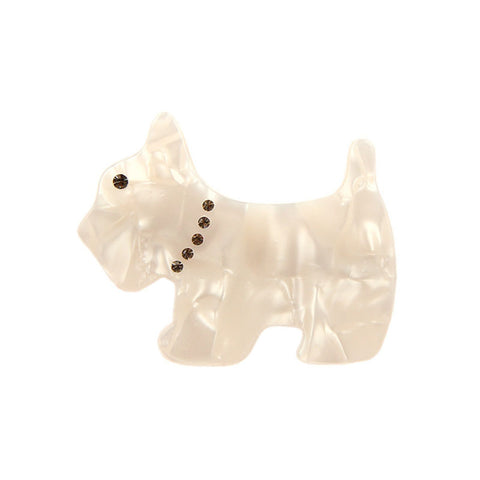 PUPPY LOVE (DUCK HAIR CLIP, WHITE) - QKiddo.com