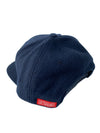 Wordmark Melton Wool Hat - Navy