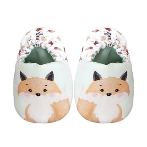 Geoff the Fox Mini Shoes (Watercolour Friends Collection)