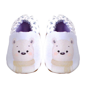 Nate the Polar Bear Mini Shoes (Watercolour Friends Collection)