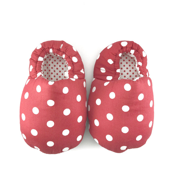 Red Polkadot Mini Shoes